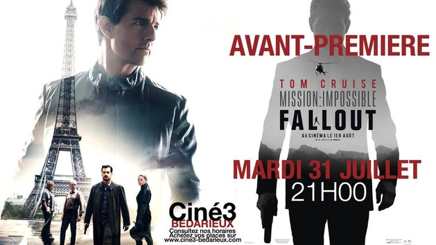 AVANT-PREMIERE : MISSION : IMPOSSIBLE - FALL OUT