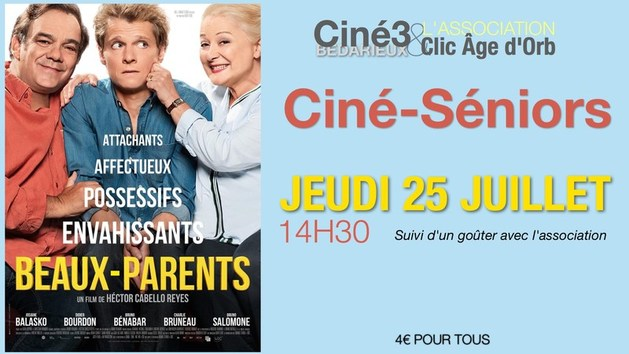 Ciné-Séniors : BEAUX-PARENTS de Hector Cabello Reyes.